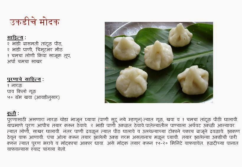 Ukadiche Modak or Steamed Modak Recipe for Ganesh Chaturthi Festival.