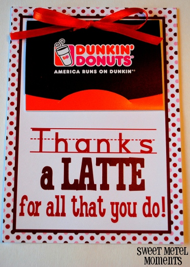 Sweet Metel Moments: Free Printable - Teacher Appreciation