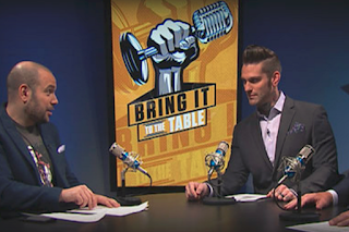 WWE Bring it to the Table Corey Graves