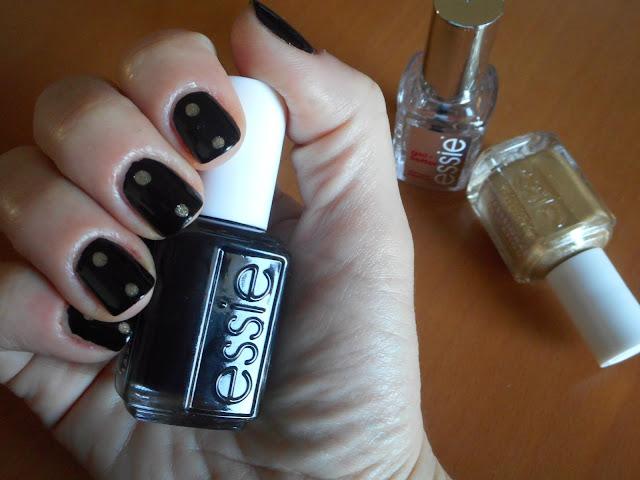 Essie Licorice, dots by Essie Getting Groovy