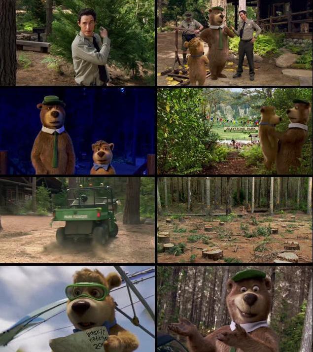 Yogi Bear 2010 Dual Audio Hindi 480p BluRay