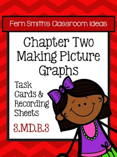 Fern Smith's Classroom Ideas Making Picture Graphs Task Cards, Recording Sheets and Answer Keys at TeacherspayTeachers.