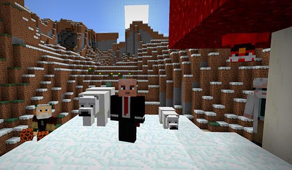 Minecraft recebe uma nova atualização com novos conteúdos. Frio e calor se juntam nas novas melhorias.