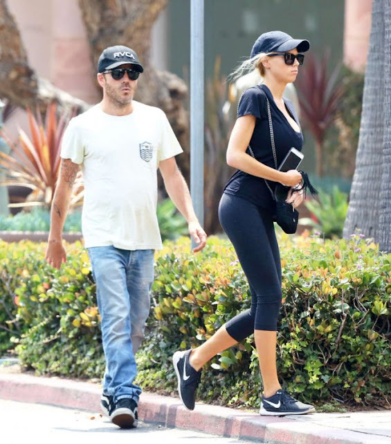 Charlotte McKinney in Tight Leggings out in Malibu