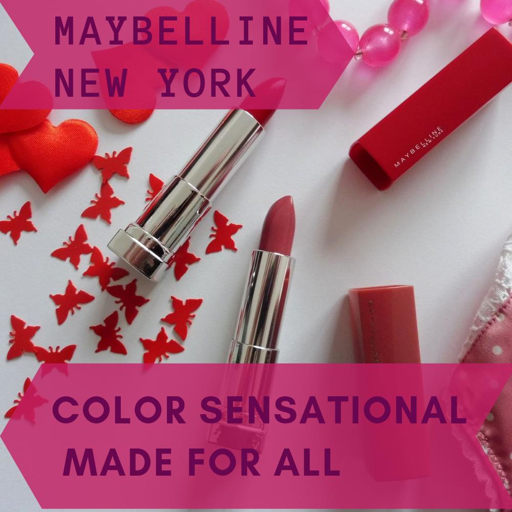 Color Sensational Made For All - Maybelline New York - Par Lili LaRochelle à Bordeaux