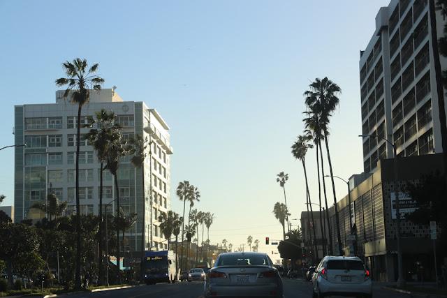 Liikennettä Los Angelesissa