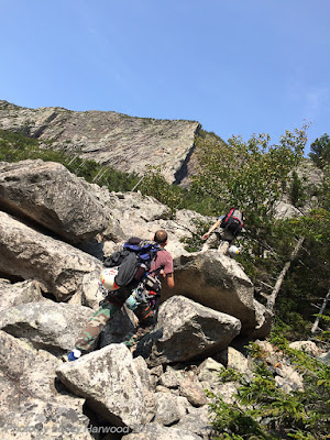 Whitney Gilman Ridge, multi pitch rock climb