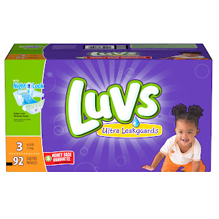 Extra Savings on Luvs and a Giveaway
