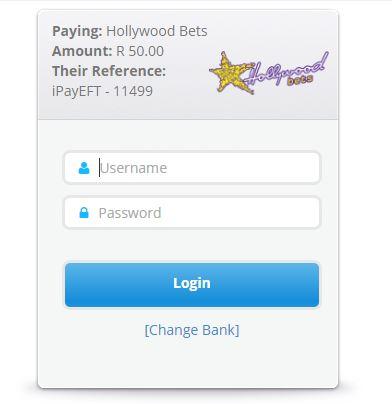 Enter your internet banking login details