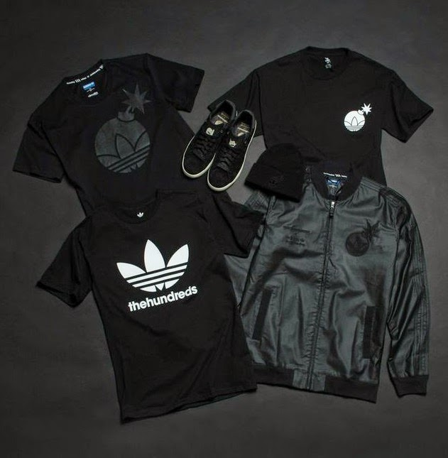 "The Hundreds x ADIDAS ""The Bruder Pack"" T-Shirt Collection"