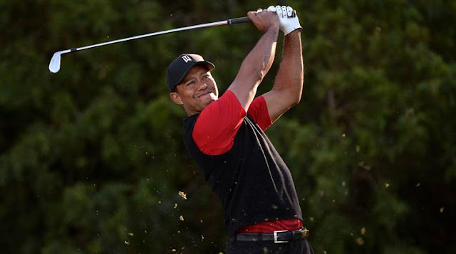 Tiger Woods' first serious comeback test a success, major challenges await