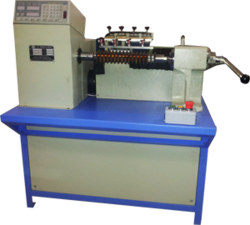Table fan coil winding machine image