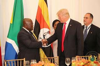 Checkout Photos As Prez. Nana Addo Meets Donald Trump