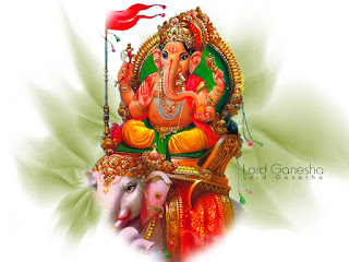 Sri Ganesh sitting on elephant pic, Sri Ganesh  with elephant pic, Sri Ganesh  sit on elephant photo