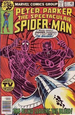 Spectacular Spider-Man #27, Daredevil