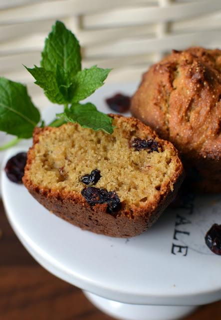 muffiny%2Bgryczane%2Bz%2B%25C5%25BCurawin%25C4%2585 Muffiny gryczano-amarantusowe z żurawiną
