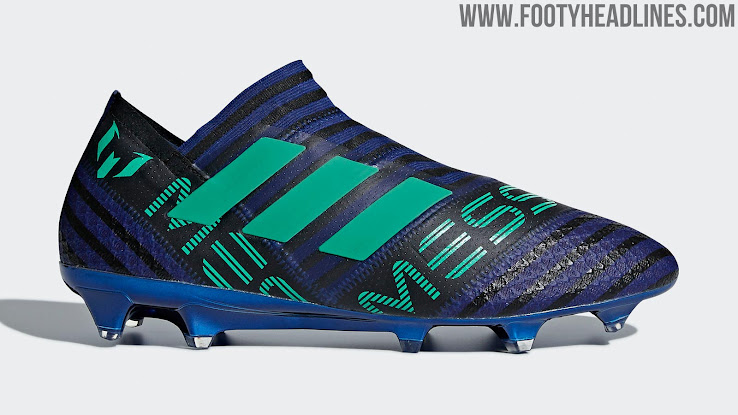 4391e6dea7c6 Adidas Nemeziz Messi 17+ 360Agility - Unity Ink   Hi-Res Green   Core Black