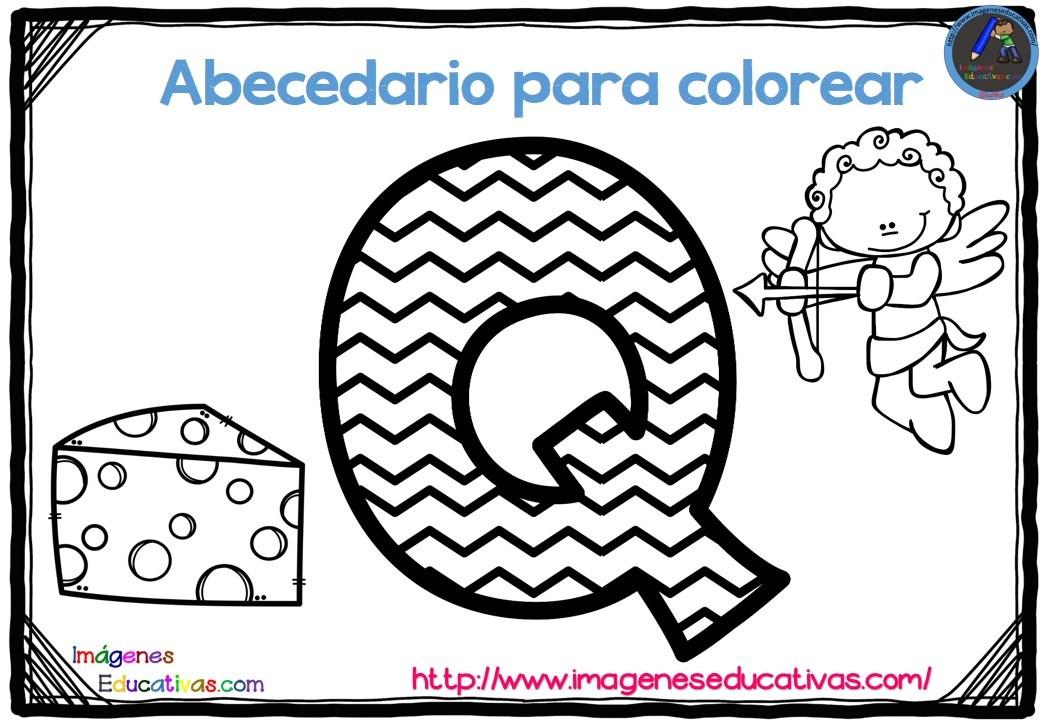 Abecedario Para Imprimir Y Colorear: SGBlogosfera. María José Argüeso: PARA COLOREAR