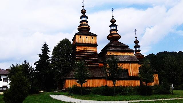 W Beskidzie Niskim takie cerkwie to bardzo częsty widok