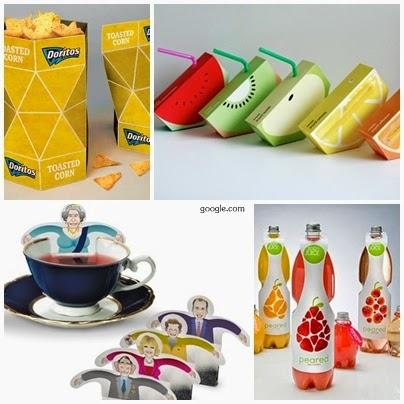 Desain Kemasan produk makanan yang baik, menarik dan unik ...