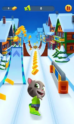 لعبة Talking Tom Gold Run مهكرة