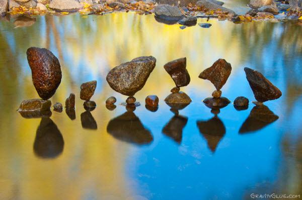 فن موازنة الصخور