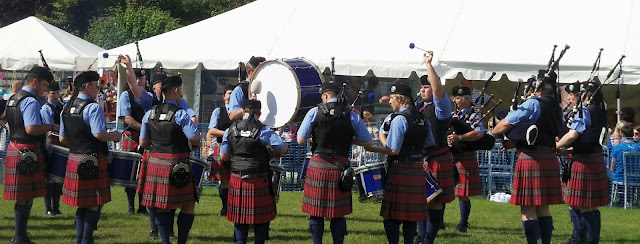 Ayr Pipe Band, Dundonald Highland Games 2012
