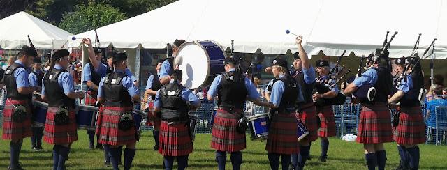 Ayr Pipe Band, Dundonald Highland Games 2012