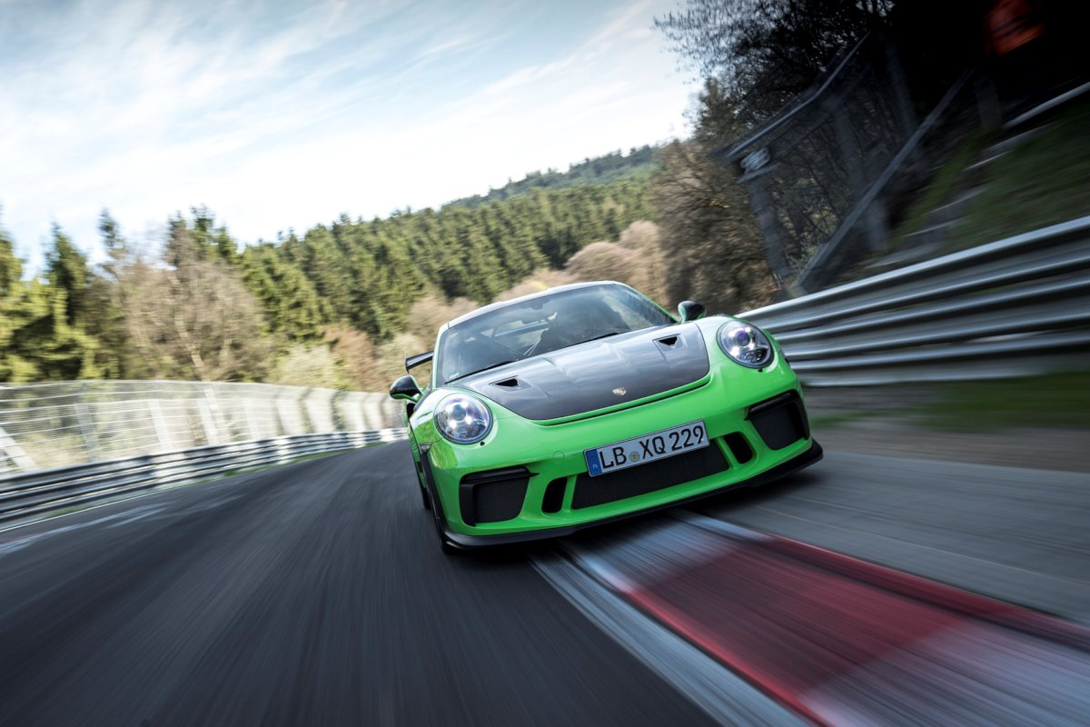 Porsche 911 Gt3 Rs Sets Sub 7 Minute N 252 Rburgring