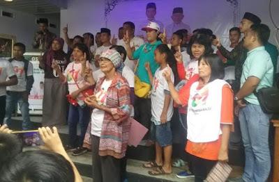 300 Orang Dari Suaro Anak Nagari, Deklarasi Dukung Jokowi-Amin