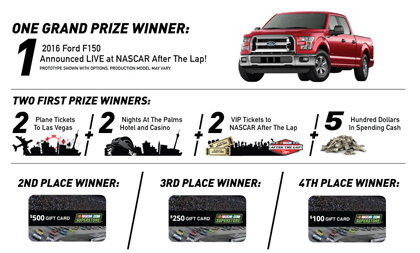 Seventh Annual #NASCAR After The Lap® Event And Sweepstakes Returns