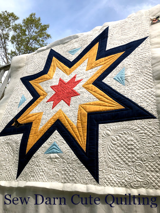 Quilting Expanding Stars