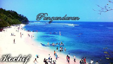Gambar Wisata Pantai Pangandaran