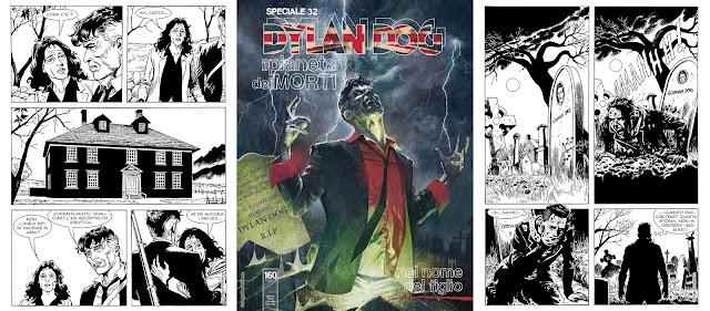 Dylan Dog - Il pianeta dei morti - #4 - Nel nome del figlio (cover+tavole)