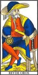 Tarot Marsella: El Rey de Oros