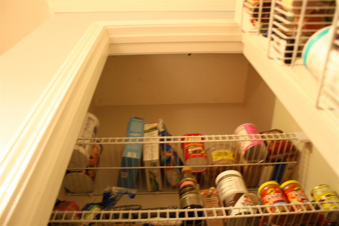 Four Dollar Pantry Lighting Solution