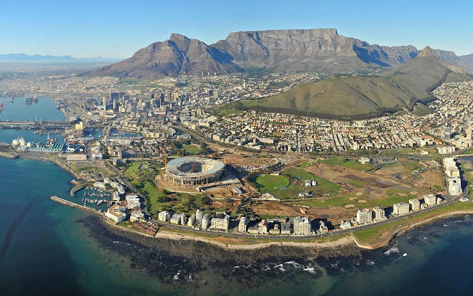 Cape Town City Wallpaper: World Travel Places: Beautiful City Cape Town