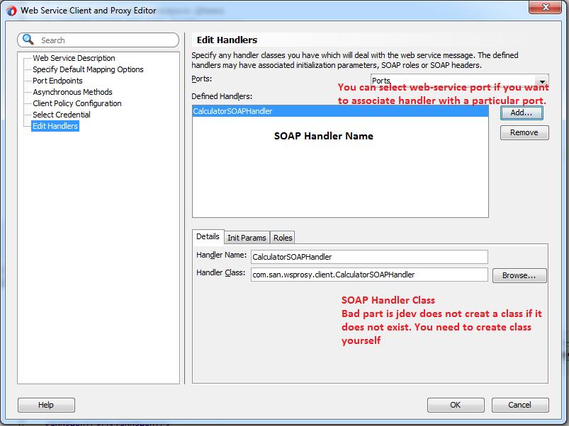 Technology Blog: Java SOAP WebService Proxy: SOAPHandler to