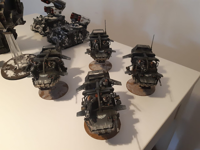 Land Speeder Storm Raven Guard