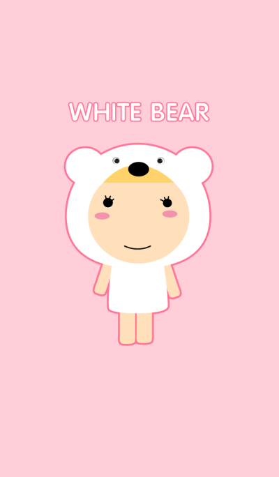 Girl White Bear theme