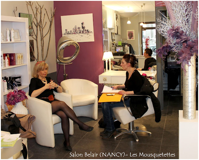 Interview Mme Gérard - Salon de coiffure Belair Nancy (54000) - Les Mousquetettes©