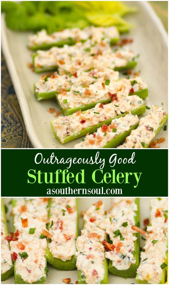 Celery sticks stuffed with cream cheese, bacon, herbs and cheddar cheese are outrageously good! Served as an appetizer or snack, this is a recipe that's sure to become a favorite at parties, cookouts and family gatherings. It's Friday and that means one thing around here…it's time to chill out. It's become a tradition here