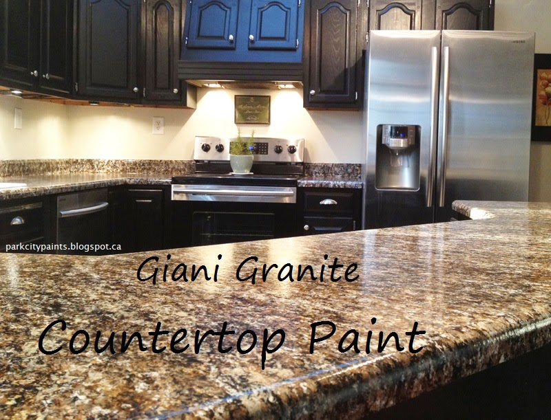 Park City Paints Granite Countertop Paint