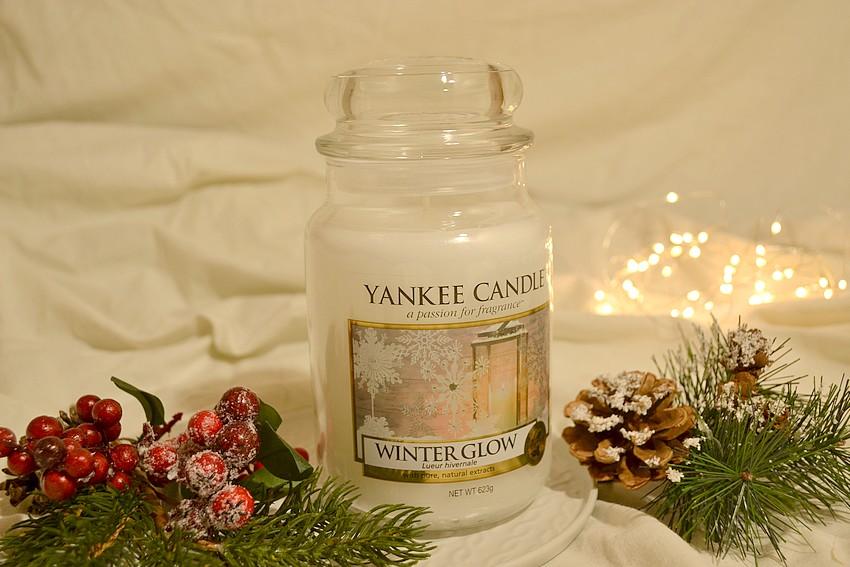 zimowa świeca yankee