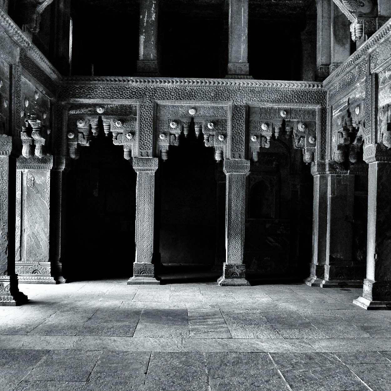 Taj Mahal Agra India Black and white photographs monochrome beautiful