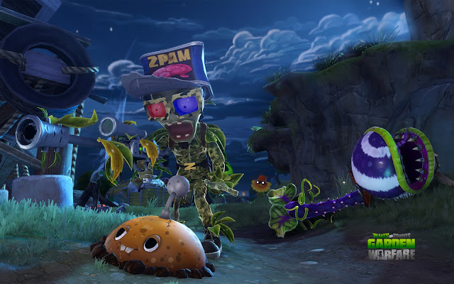 Wallpaper Plants Vs Zombies Dirakion Games