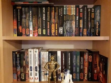 Andrejkovics Péter Star Wars könyvespolc 1.