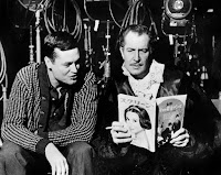 El director Roger Corman junto a Vincent Price
