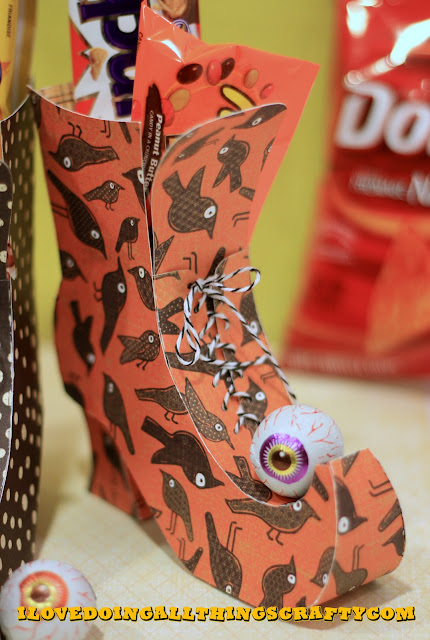 Witch Boots | Halloween Treat Boxes