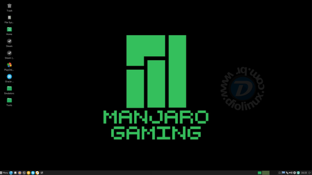 Manjaro Linux Gaming Edition